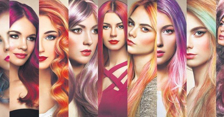 Modumuzu renkli saçlarla yükseltiyoruz