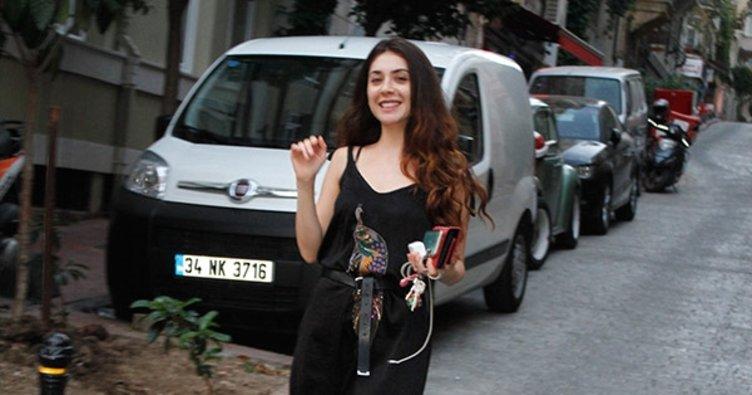 Fulya Zenginer salaş tarzıyla şaşırttı