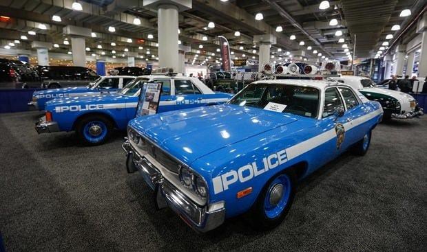 New York'un tarihi polis araçları