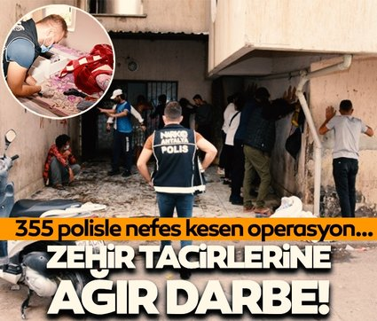Antalya'da Özel Harekatlı uyuşturucu operasyonu! Çok sayıda ele geçirildi