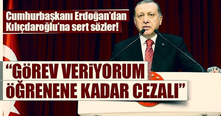 Cumhurbaşkanı Erdoğan: Kılıçdaroğlu'na öğrenme görevi veriyorum