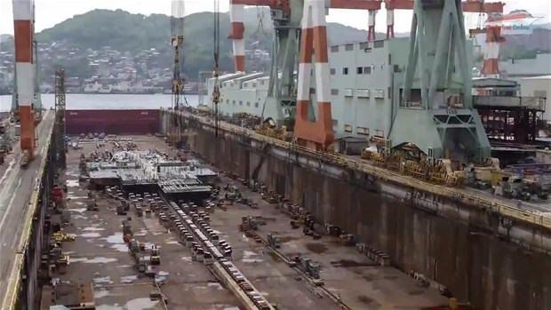 Lüks yolcu gemisi böyle yapıldı