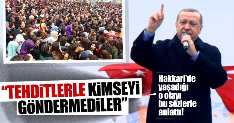 Cumhurbaşkanı Erdoğan'dan son dakika açıklaması: Bir olduk 128'e 9 olduk