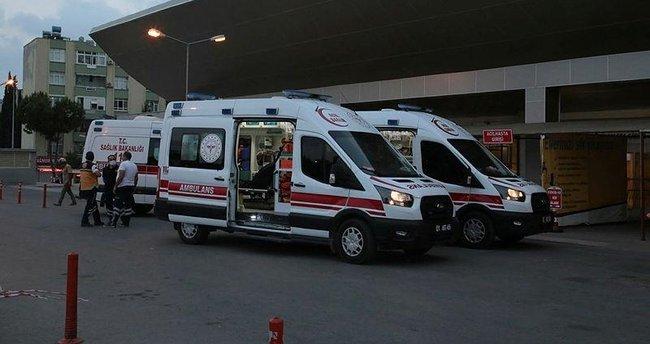 Adana'da trafik kazası: 8 yaralı
