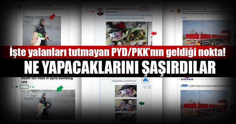 PYD/PKK'nın 'Afrin yalanları' çıkmaza girdi