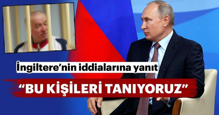 Son Dakika: Putin'den Skripal vakasıyla ilgili açıklama: Bu kişileri tanıyoruz!