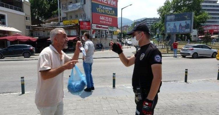 Bursa'da kurallara uymayanlara ceza kesildi