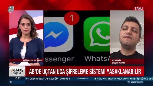 Avrupa Birliği (AB),WhatsApp'taki şifreleme sistemini yasaklayacak mı? | Video