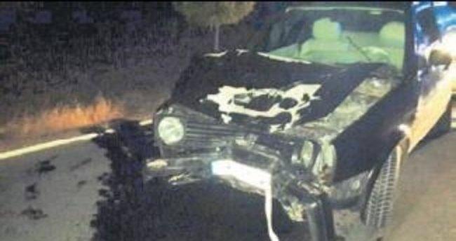 Otomobil, bisiklete çarptı: 2 ölü