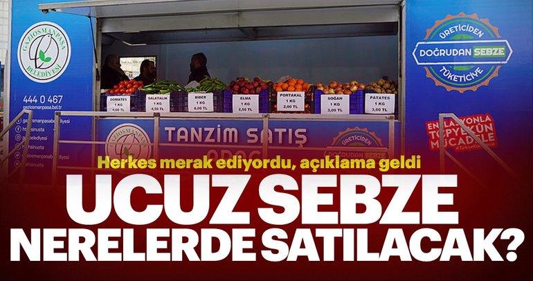İstanbul'da tanzim satışları nerelerde olacak? İşte ucuza sezbe satışıyla ilgili önemli açıklama