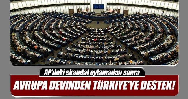 AP'deki oylamadan sonra İngiltere'den Türkiye'ye destek