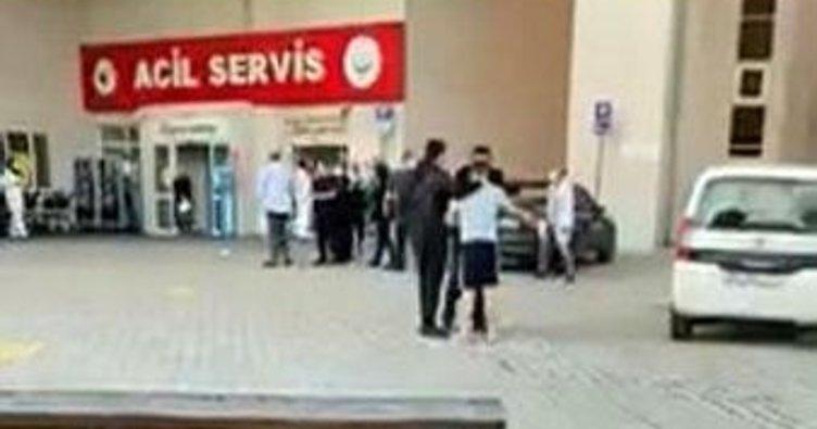 Maske tak uyarısı yapan güvenlik görevlisine testereyle saldırdı
