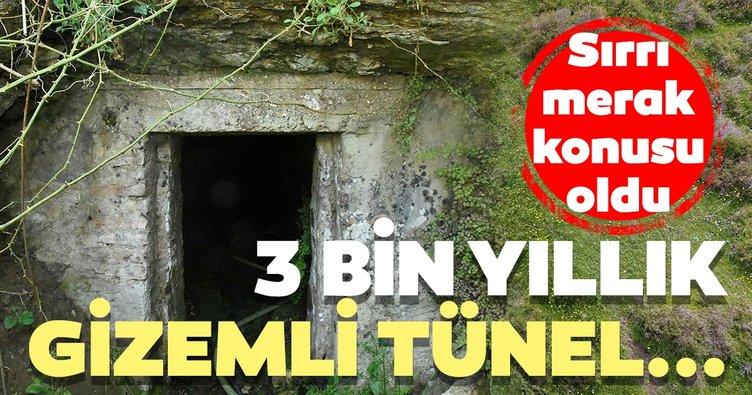 3 bin yıllık gizdemli tüneller...