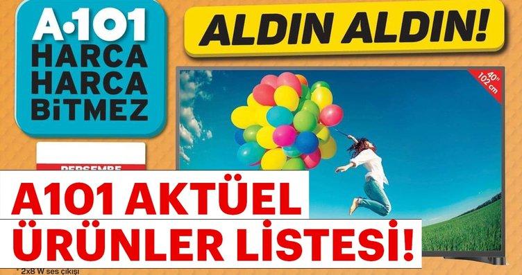 A101 aktüel ürünleri listesi yayınlandı! 18 Ekim...