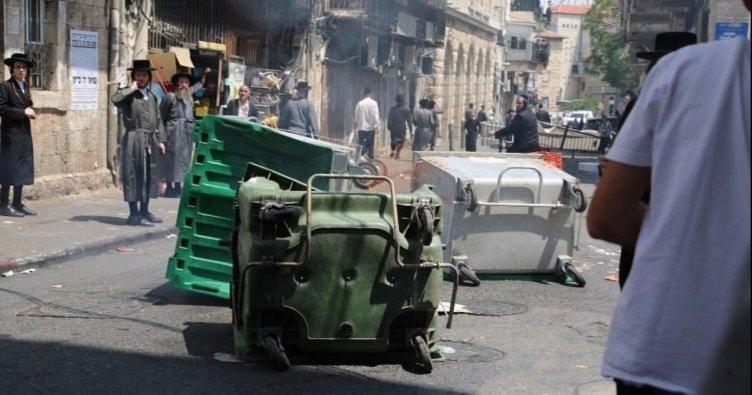 İsrail karıştı... Haredi Yahudileri polisle çatıştı!