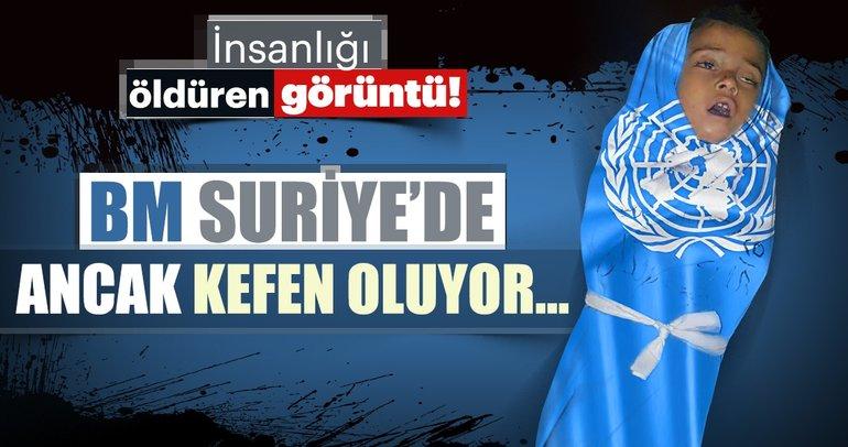 BM Suriye'de ancak kefen oluyor!
