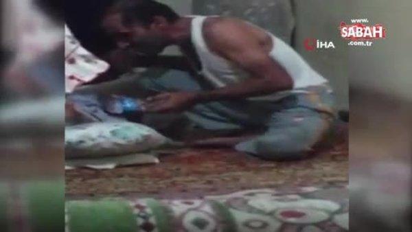 Son Dakika Haber: Elazığ'da yatalak anneye hain evlattan tepki çeken işkence görüntüleri | Video