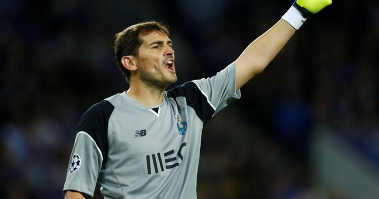 Casillas, Porto'da kaldı