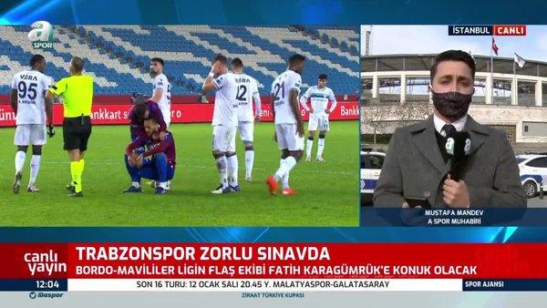 Trabzonspor, Fatih Karagümrük deplasmanında. İşte muhtemel 11'ler   Video