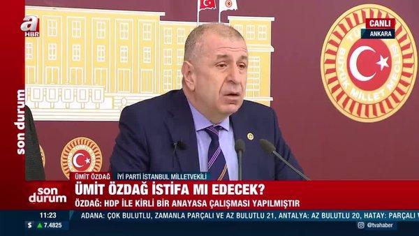 SON DAKİKA: Ümit Özdağ'dan HDP ile yapılan skandal Anayasa çalışması hakkında flaş açıklama 'Vİdeo kaydını izledim'   Video