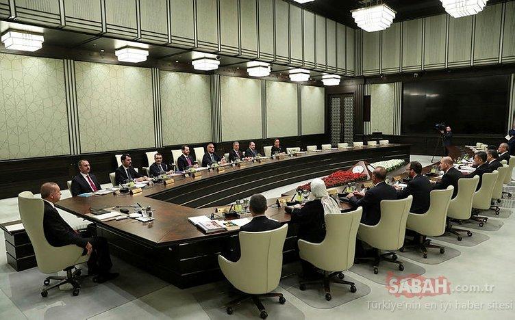 Son Dakika: Başkan Erdoğan başkanlığındaki ilk toplantı başladı