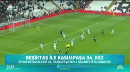 Beşiktaş ile Kasımpaşa 34. kez