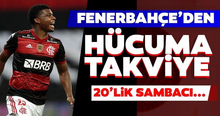 Son dakika transfer haberi: Fenerbahçe'ye Sambacı yıldız geliyor!