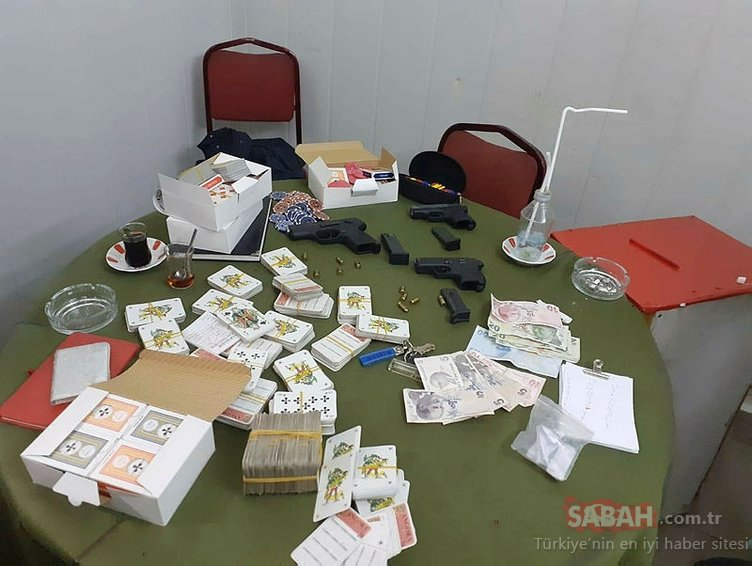 Bursa'da çadırlarda kumar oynayan 19 kişiye ceza yağdı