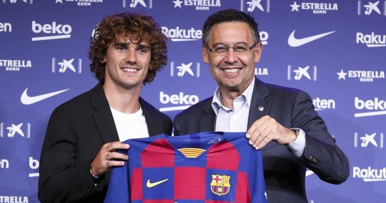 Barcelona'nın yeni transferi Antoine Griezmann'dan çarpıcı açıklamalar