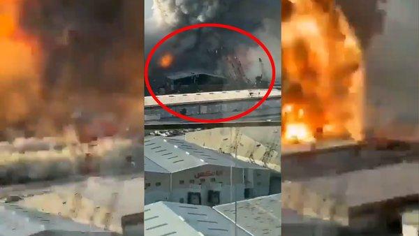 Son Dakika: Beyrut patlamasında kendi ölümünü çeken kadının görüntülerindeki şok sesler olay oldu   Video