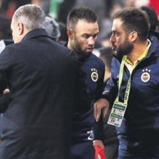 Valbuena oyuna girerken trip yaptı, golü yedirdi