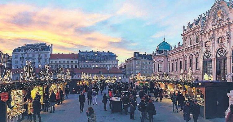 Yılbaşı öncesi ışıl ışıl Viyana