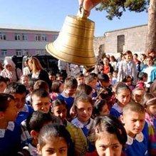 Samsat'ta okullar bir gün tatil