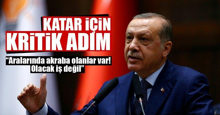 Cumhurbaşkanı Erdoğan açıkladı! Katar için bir kritik adım daha