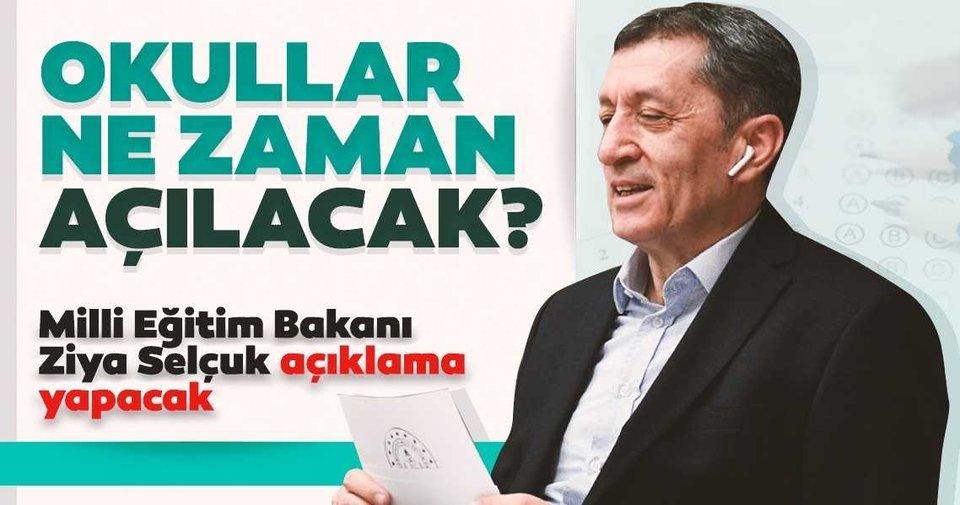 Son dakika haberi: Milli Eğitim Bakanı Ziya Selçuk saat 10 ...