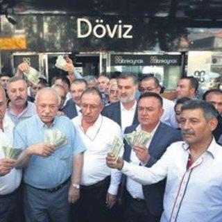 Dolardan Türk Lirası'na dönüş