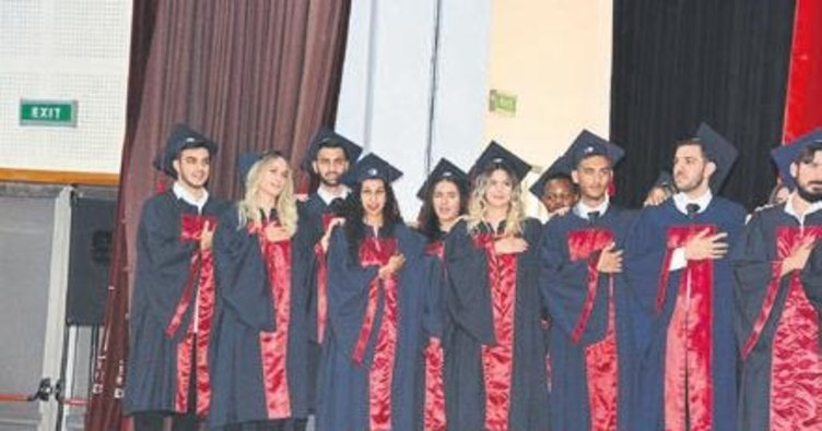 Veteriner hekimler mezun oldu