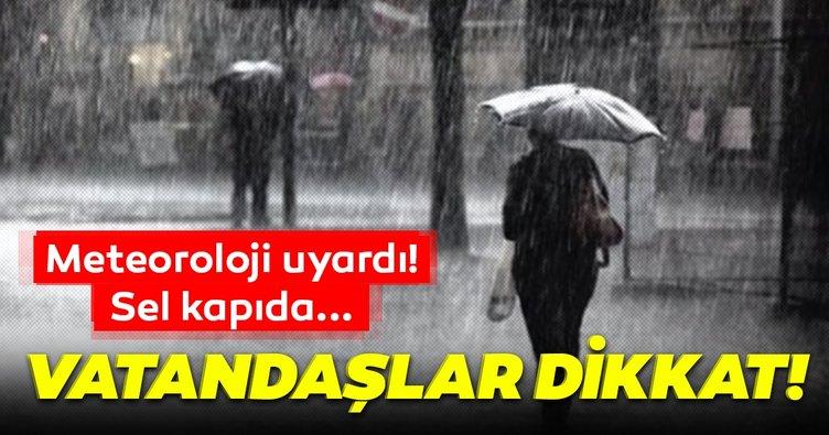 Meteoroloji'den son dakika hava durumu ve sağanak yağış uyarısı geldi! 3 Nisan sel uyarısı geldi