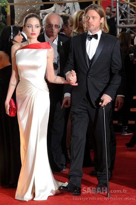 Ünlü oyuncu Angelina Jolie'nin hafızalara kazınan şıklığı!