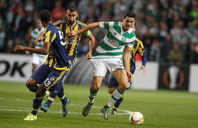Celtic - Fenerbahçe maçı Twitter'ı salladı