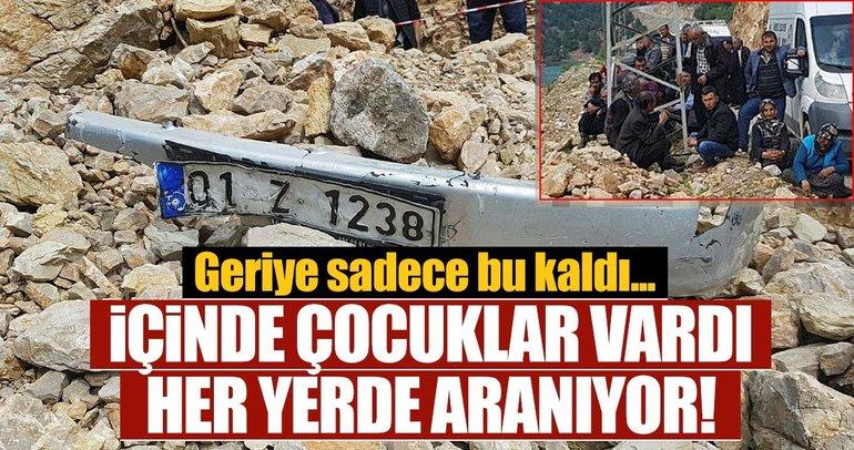 Son dakika: Adana'da 4 kişinin olduğu otomobil baraja uçtu! Şehir ayağa kalktı