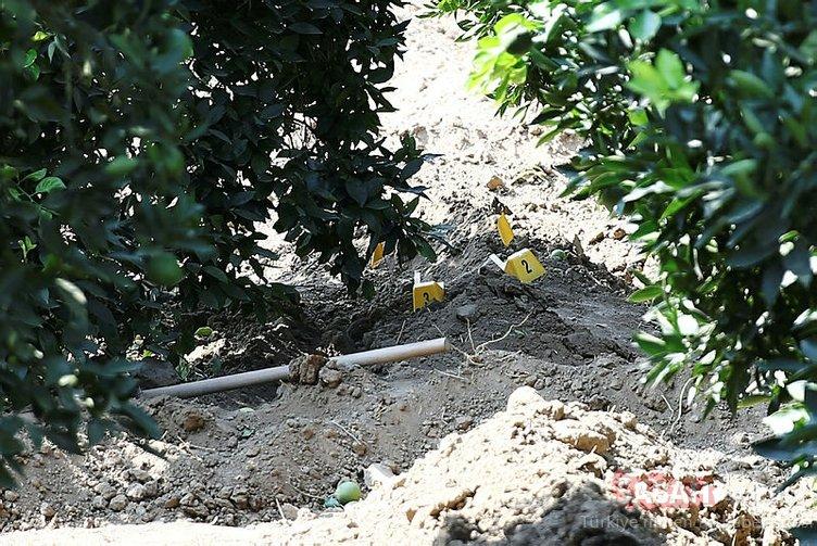 Adana'da toprağa gömülü ceset bulundu