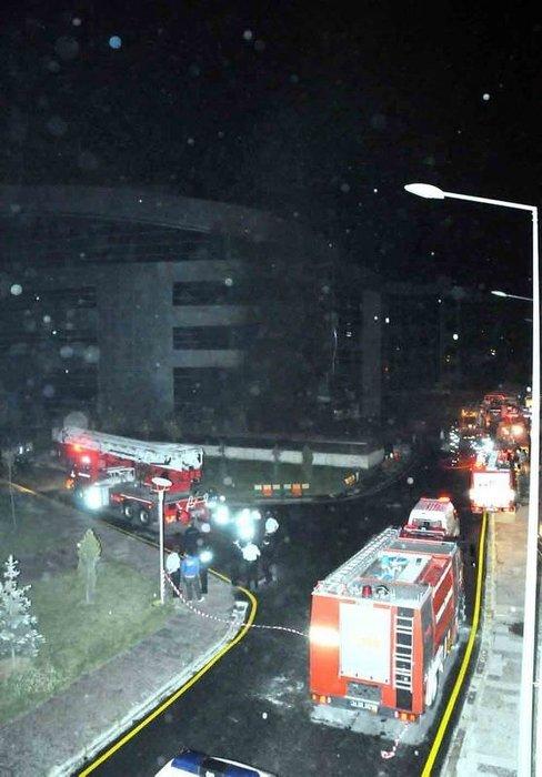 Kartal Anadolu Adalet Sarayı'nda yangın