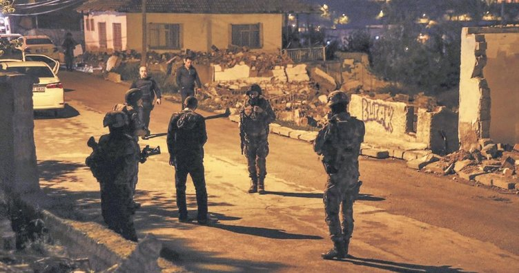 Polisi vuran saldırgan yaralı yakalandı