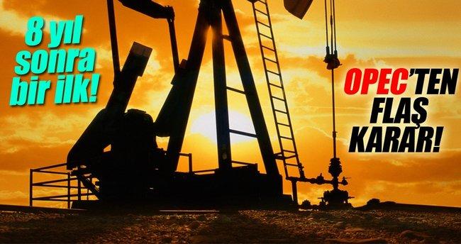 OPEC'ten önemli karar!