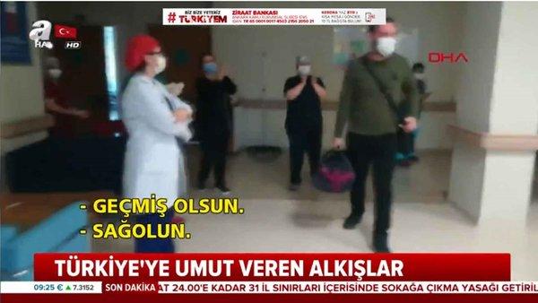 Virüsü atlatanların sevinci Türkiye'ye umut oldu