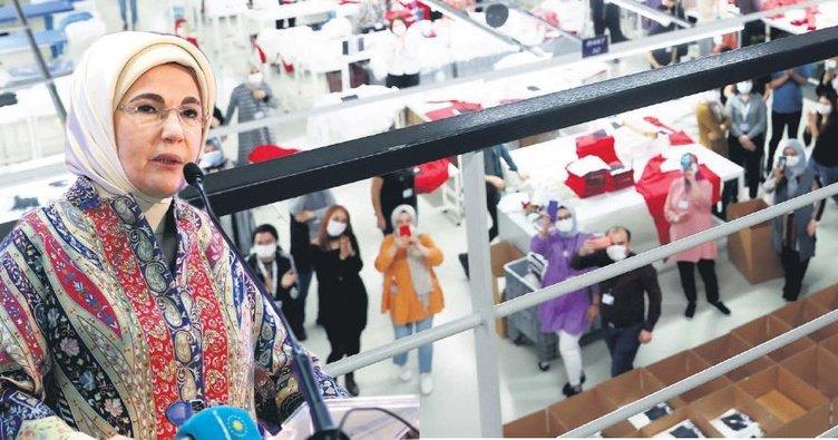 'Kadınlarımız Türkiye'nin taşıyıcı kolonlarıdır'