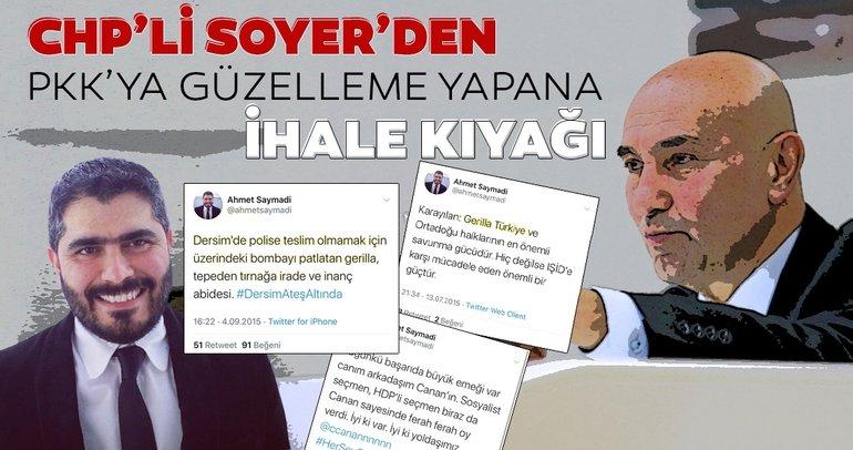 CHP'li Tunç Soyer'den bir HDP skandalı daha
