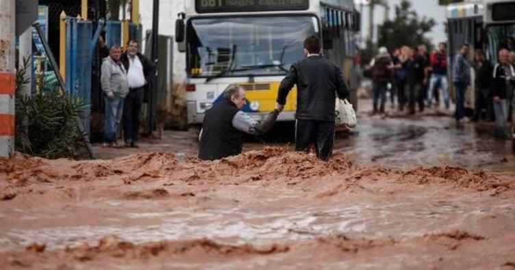 Son Dakika Haberi: Yunanistan'da sel felaketi: OHAL ilan edildi!