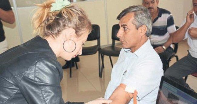 Osmaniye Belediyesi'nde personele sağlık taraması